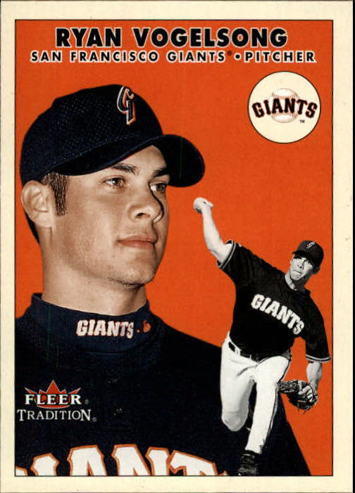 2000 Fleer Tradition Update #140 Ryan Vogelsong RC