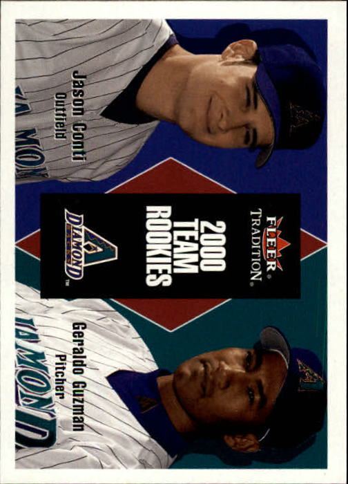 2000 Fleer Tradition Update #141 J.Conti/G.Guzman RC