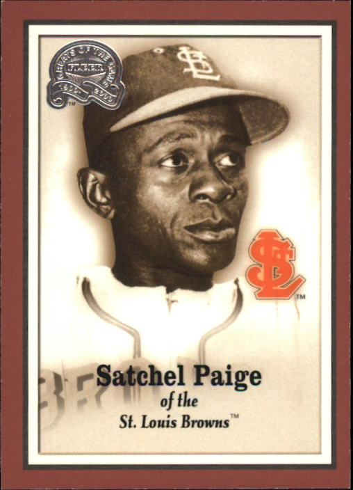2000 Greats of the Game #4 Satchel Paige