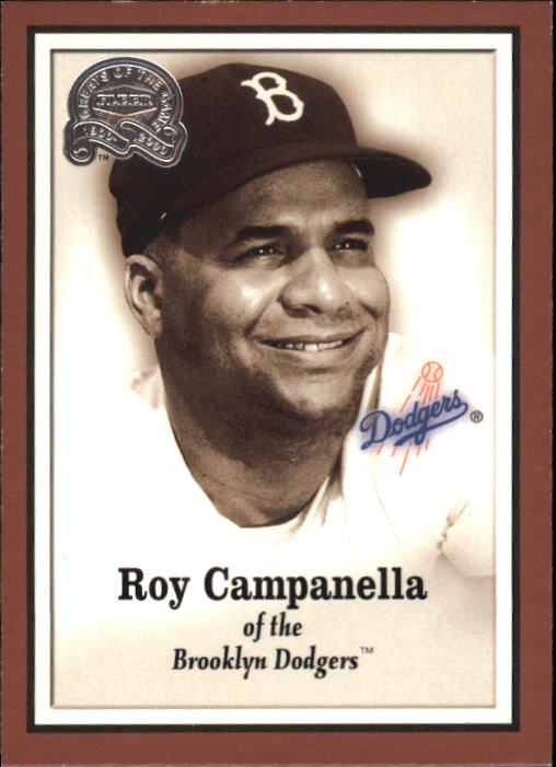 2000 Greats of the Game #5 Roy Campanella front image