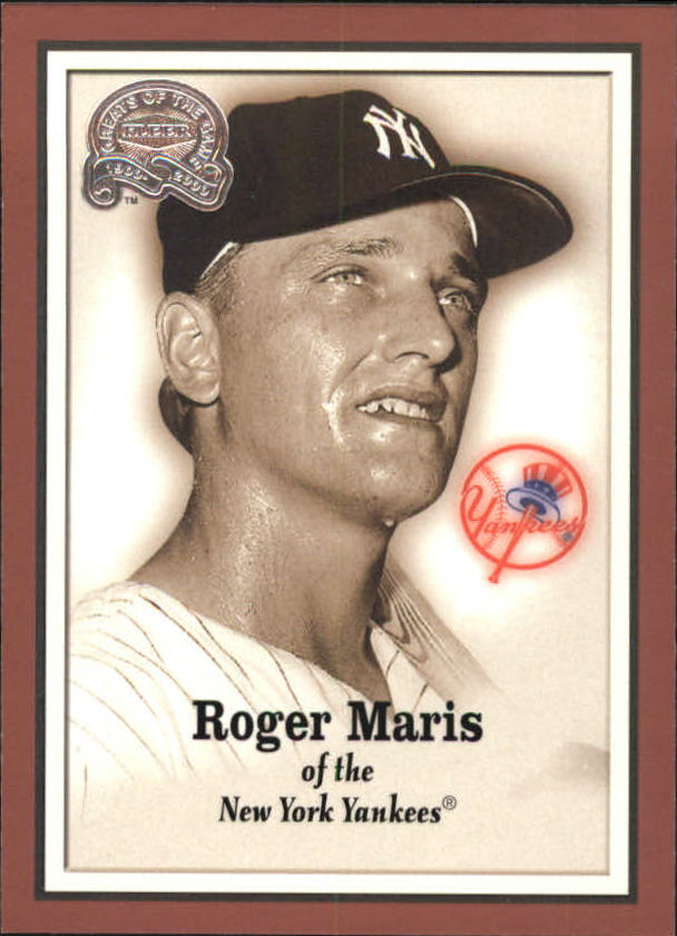 2000 Greats of the Game #7 Roger Maris front image