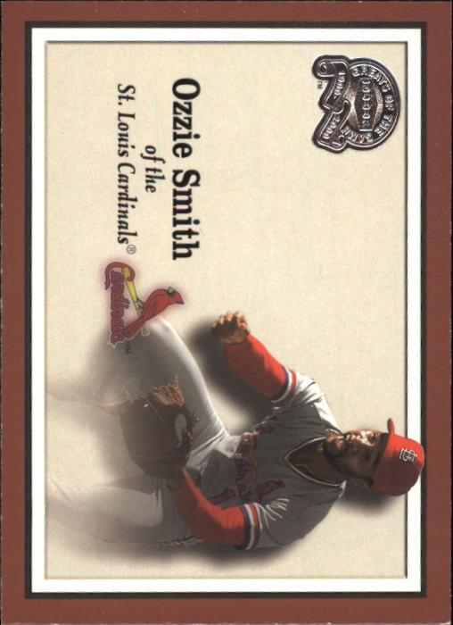 2000 Greats of the Game #8 Ozzie Smith