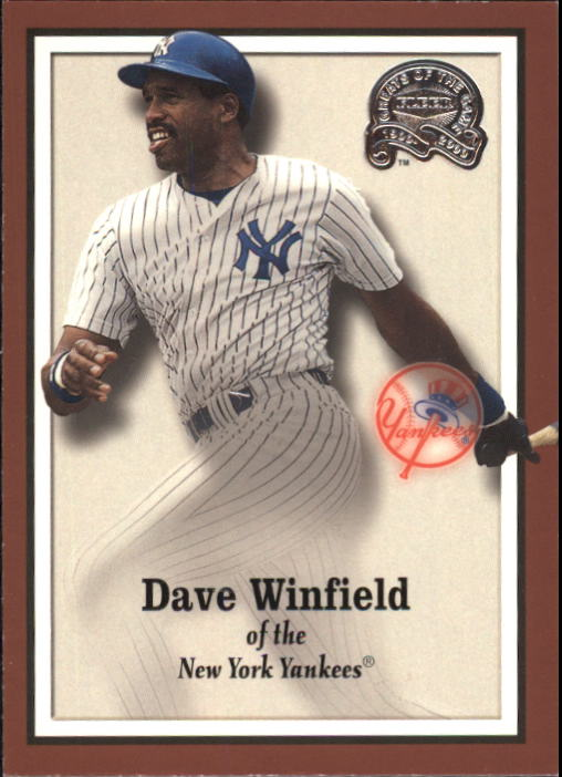 2000 Greats of the Game #12 Dave Winfield