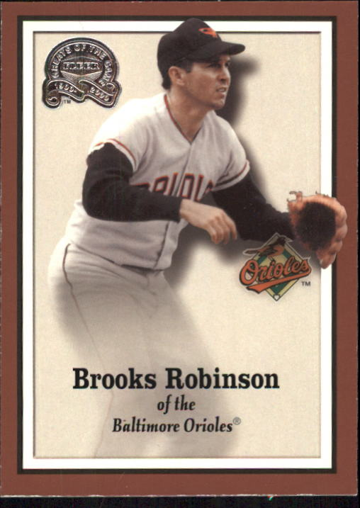 2000 Greats of the Game #16 Brooks Robinson