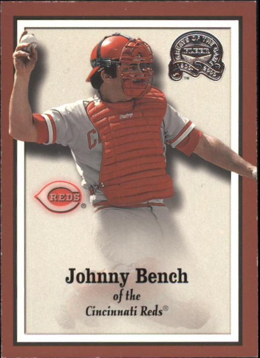 2000 Greats of the Game #19 Johnny Bench