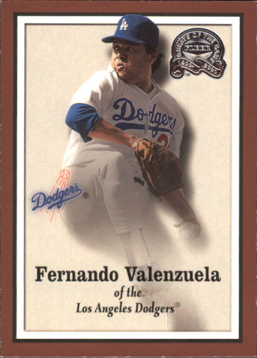 2000 Greats of the Game #20 Fernando Valenzuela