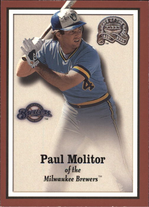 2000 Greats of the Game #22 Paul Molitor