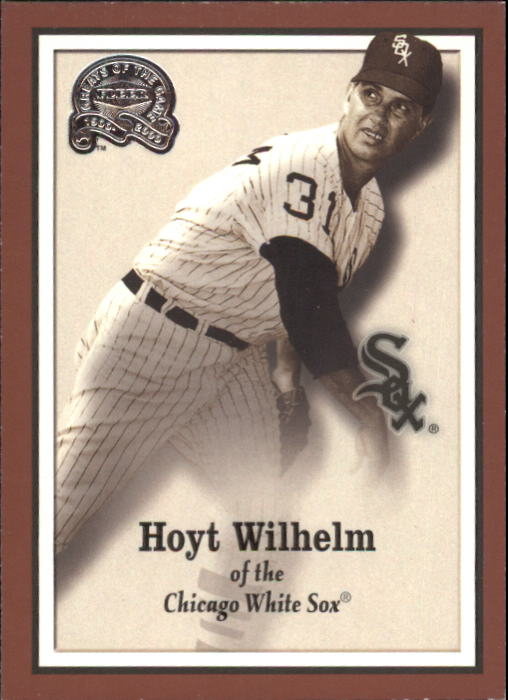 2000 Greats of the Game #23 Hoyt Wilhelm front image