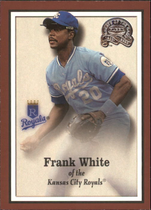 2000 Greats of the Game #25 Frank White