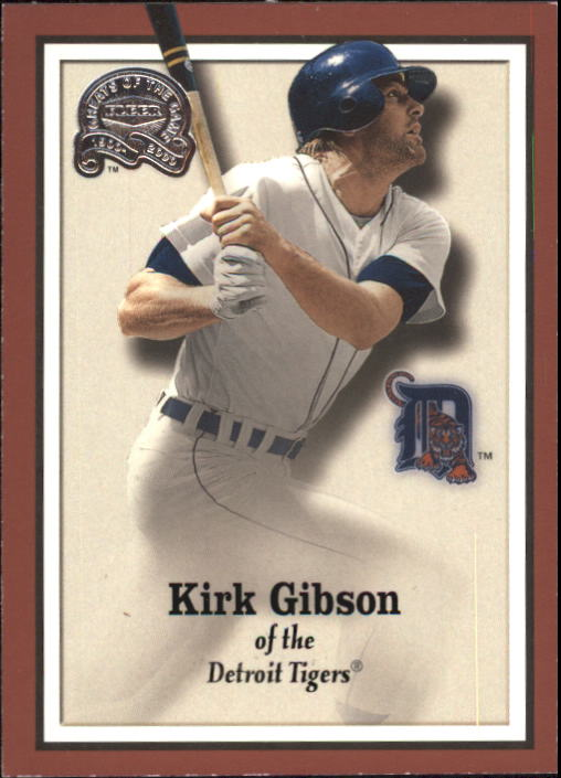 2000 Greats of the Game #27 Kirk Gibson