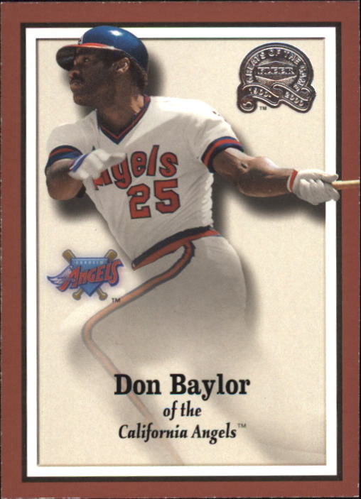 2000 Greats of the Game #29 Don Baylor
