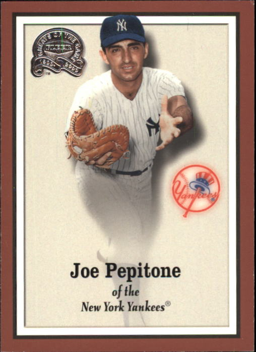 2000 Greats of the Game #30 Joe Pepitone