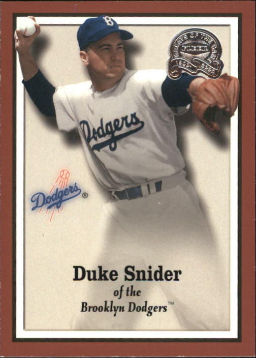 2000 Greats of the Game #36 Duke Snider