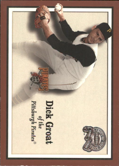 2000 Greats of the Game #37 Dick Groat front image
