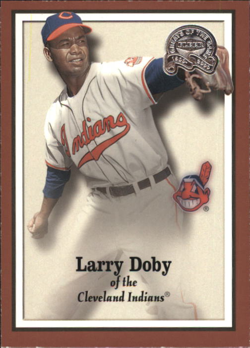 2000 Greats of the Game #38 Larry Doby front image