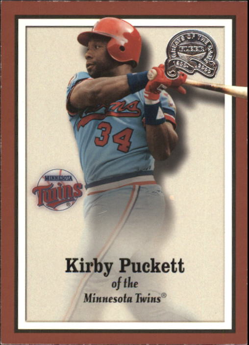 2000 Greats of the Game #39 Kirby Puckett