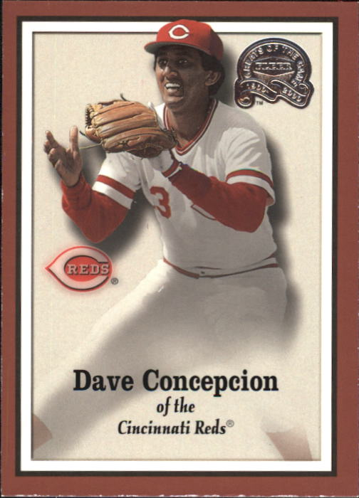 2000 Greats of the Game #46 Dave Concepcion