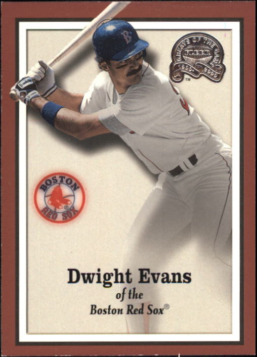 2000 Greats of the Game #47 Dwight Evans