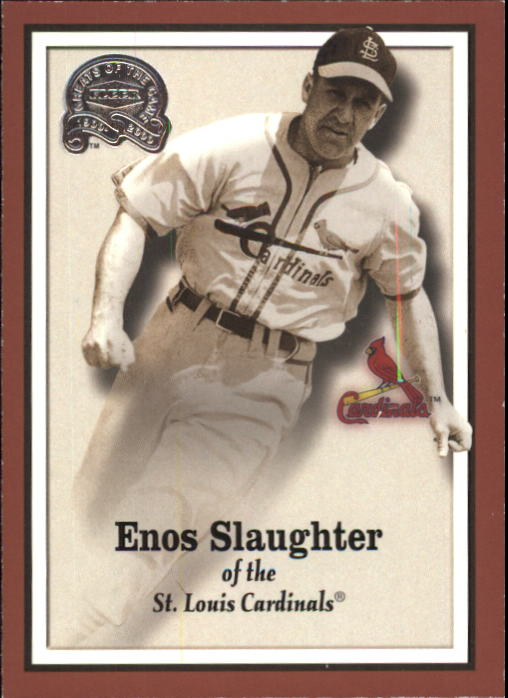 2000 Greats of the Game #48 Enos Slaughter