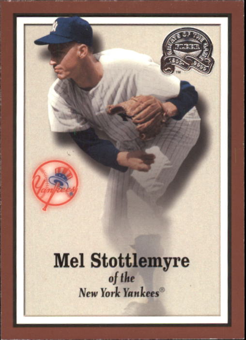 2000 Greats of the Game #51 Mel Stottlemyre