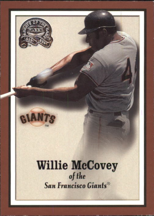 2000 Greats of the Game #53 Willie McCovey