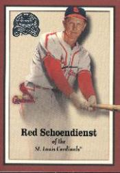2000 Greats of the Game #54 Red Schoendienst
