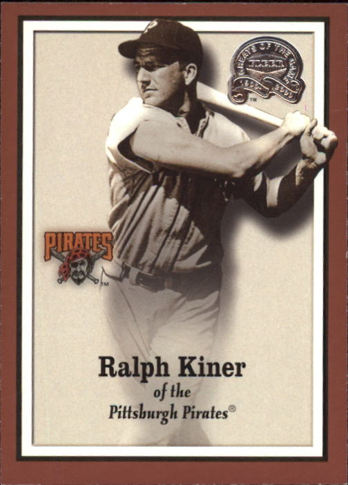 2000 Greats of the Game #56 Ralph Kiner