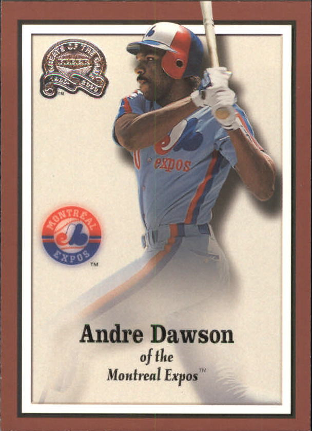 2000 Greats of the Game #58 Andre Dawson