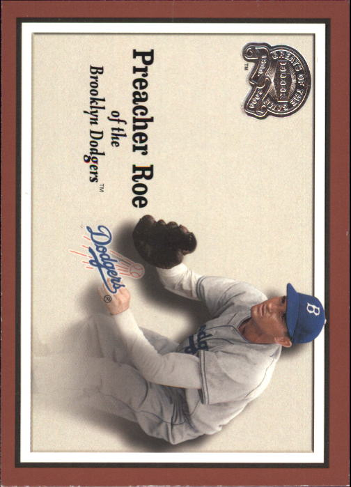 2000 Greats of the Game #64 Preacher Roe front image