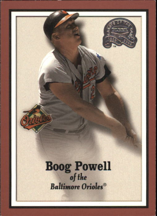 2000 Greats of the Game #71 Boog Powell