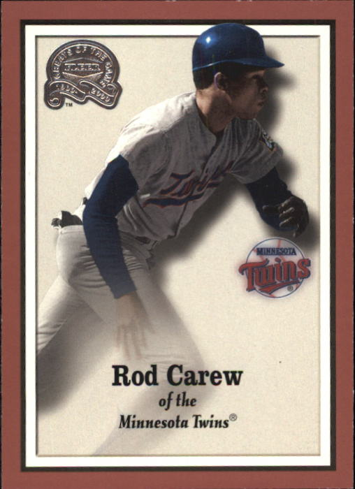 2000 Greats of the Game #75 Rod Carew