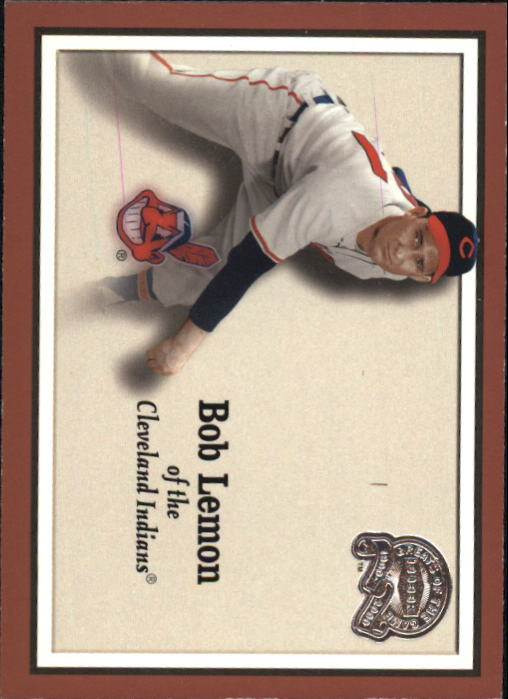 2000 Greats of the Game #76 Bob Lemon front image