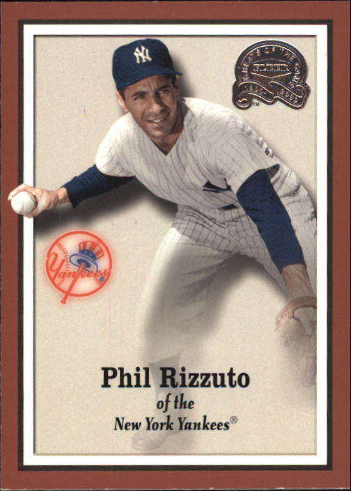 2000 Greats of the Game #78 Phil Rizzuto front image