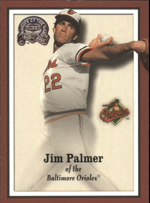 2000 Greats of the Game #84 Jim Palmer