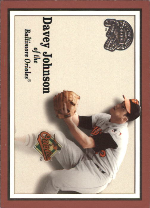 2000 Greats of the Game #91 Davey Johnson front image