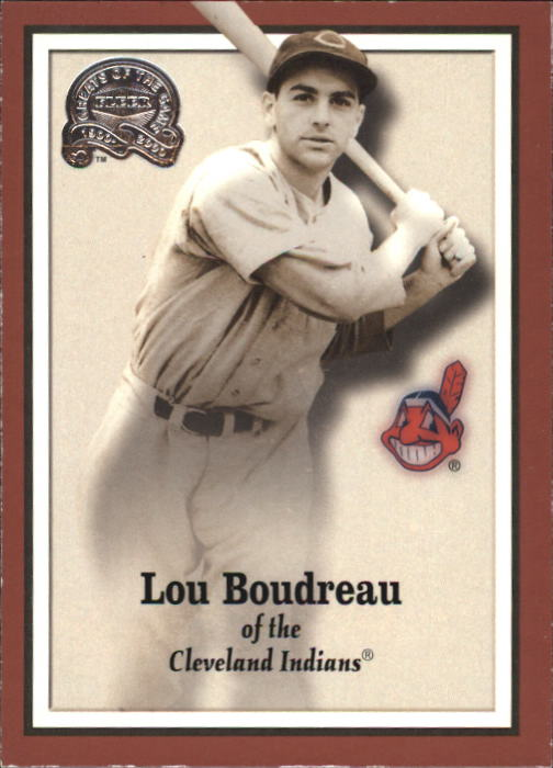 2000 Greats of the Game #92 Lou Boudreau
