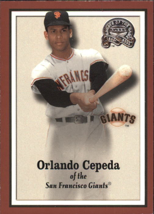 2000 Greats of the Game #93 Orlando Cepeda