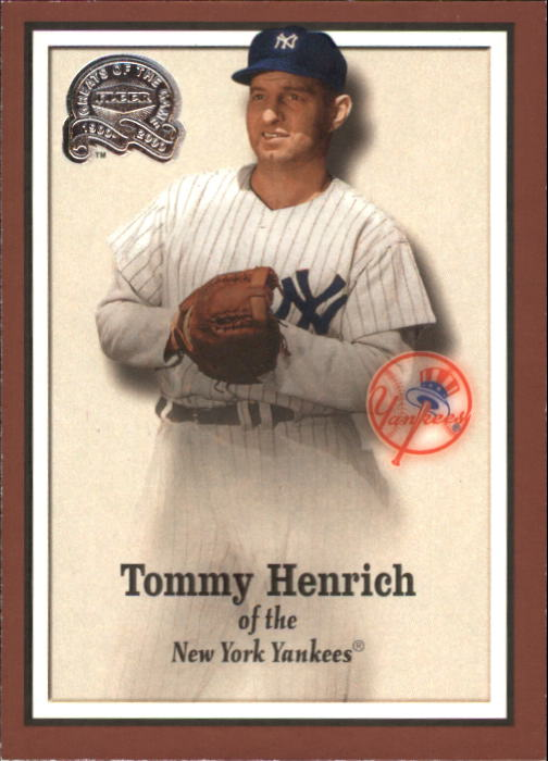 2000 Greats of the Game #94 Tommy Henrich