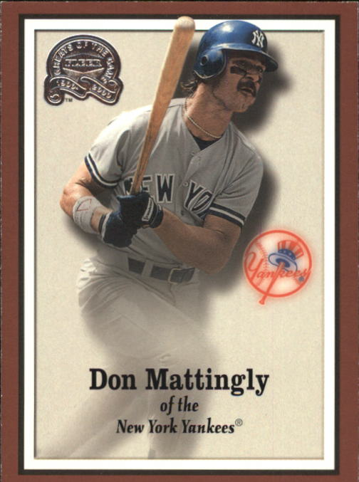 2000 Greats of the Game #99 Don Mattingly