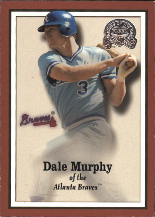 2000 Greats of the Game #100 Dale Murphy