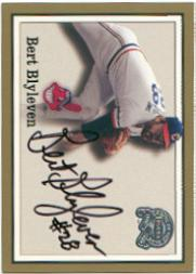 2000 Greats of the Game Autographs #7 Bert Blyleven