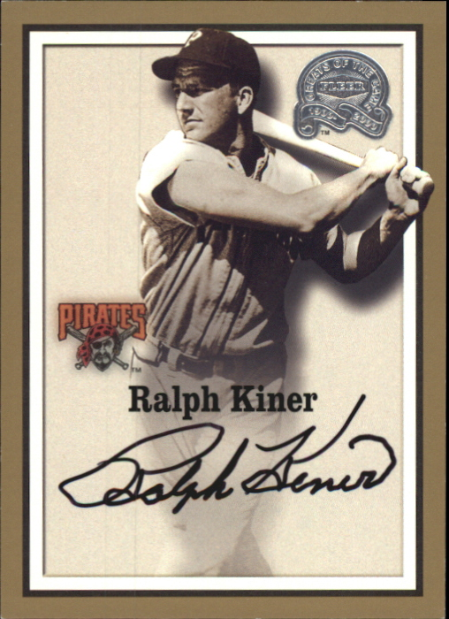 2000 Greats of the Game Autographs #44 Ralph Kiner
