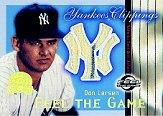 2000 Greats of the Game Yankees Clippings #YC3 Don Larsen