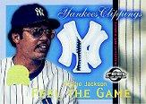 2000 Greats of the Game Yankees Clippings #YC7 Reggie Jackson