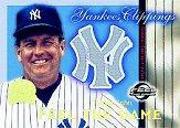 2000 Greats of the Game Yankees Clippings #YC8 Tommy John