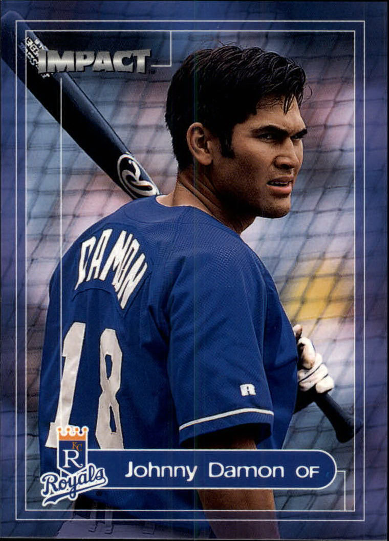 2000 Impact #107 Johnny Damon