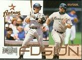 2000 Metal Fusion #F9 J.Bagwell/C.Biggio