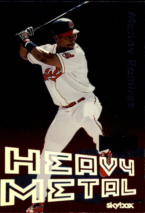 2000 Metal Heavy Metal #GS7 Manny Ramirez