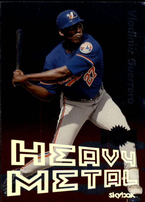 2000 Metal Heavy Metal #GS10 Vladimir Guerrero