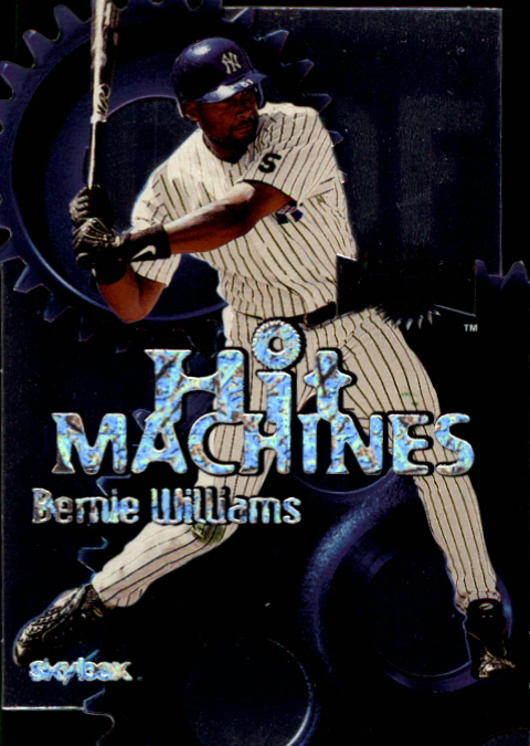 2000 Metal Hit Machines #H6 Bernie Williams